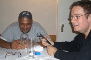 Moses Pelham & Andreas Kolbe im rap2soul-Interview (Foto: Andreas Kolbe)