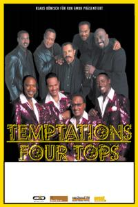 Temptations und Four Tops live on Tour